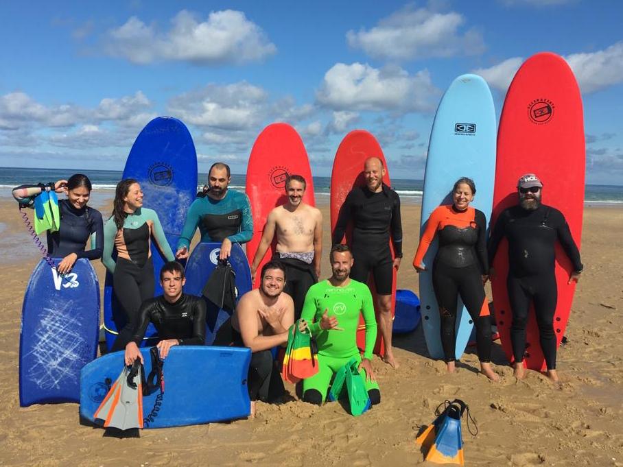 HCL École de Surf & Bodyboard Lacanau groupe été 2020