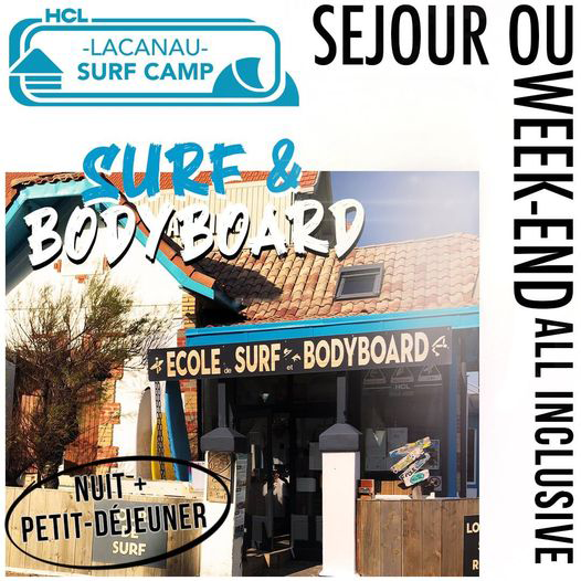 flyer Weekend Hcl Surf Camp Lacanau