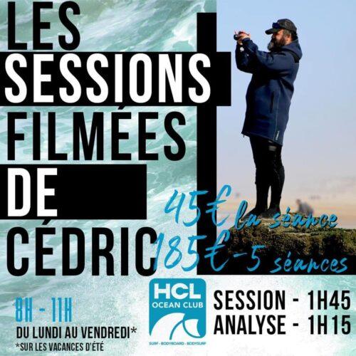 Flyer Session filmés coaching vidéo